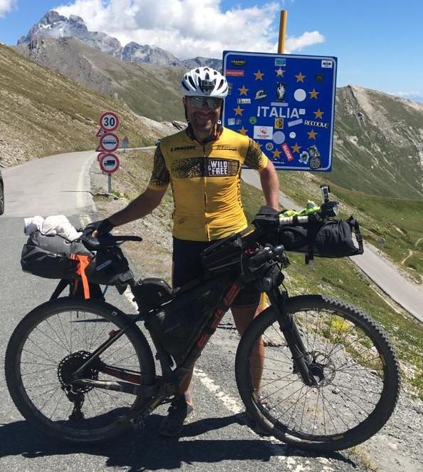 Continua l'impresa di Paolo Laureti sul Sentiero Italia CAI,