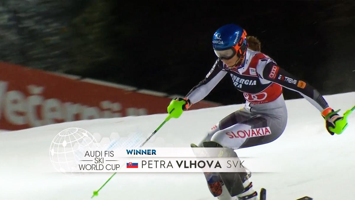 Petra Vlhova Zagreb