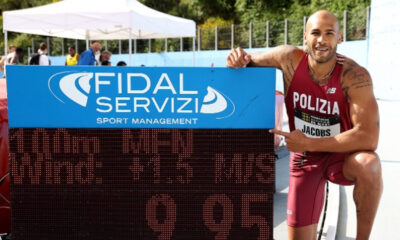 Marcell Jacobs, record 100 metri